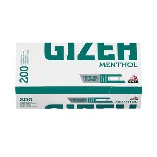 Gizeh Menthol Hülsen 1x200