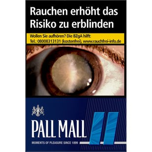 Pall Mall Blue OP 6,60€