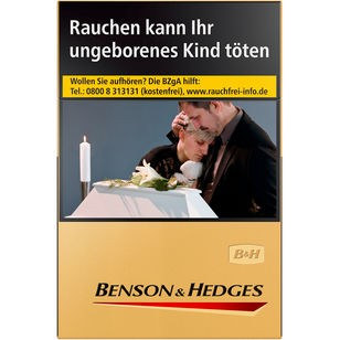 Benson & Hedges Gold BP L 7,00€