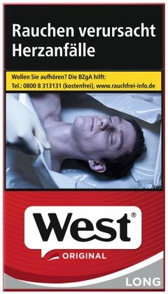 West Red Long 6,60€