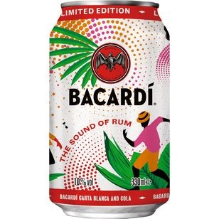 Bacardi & Cola 10% Vol. 0,33L