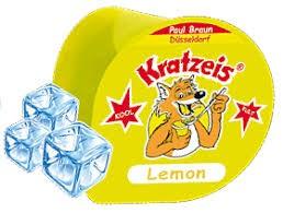 Braun Kratzbecher Zitrone 1x40