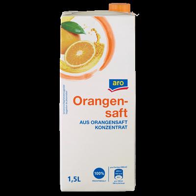 Aro Orangensaft 100% 1,5l