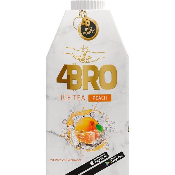 4Bro Ice Tea Peach 8x500ml