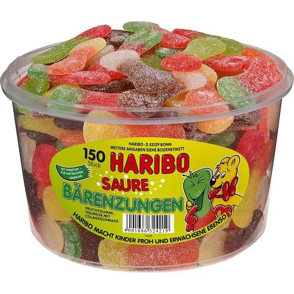 Haribo Saure Bärenzungen 1x150