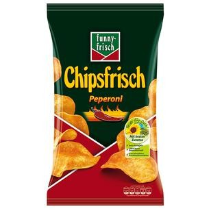 Funny Frisch Peperoni Chips 1x175g