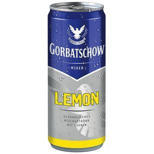 Gorbatschow Lemon 10% Vol. 0,33L