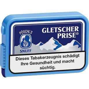 Gletscherprise Snuff 10x10g Dosen