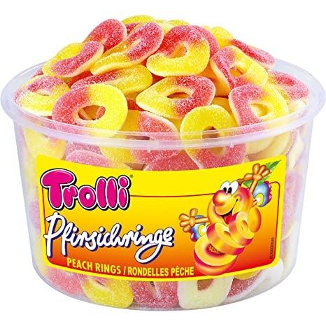 Troll Pfirsichringe 1x150
