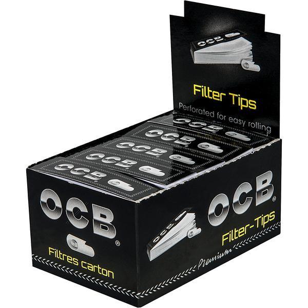 OCB Filter Tips 25x50