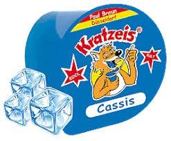 Braun Kratzbecher Cassis blau 1x40