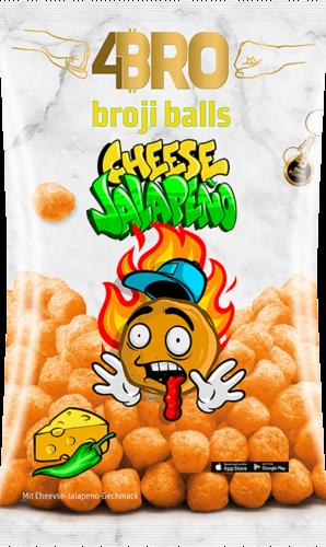 4Bro Broji Balls Cheese Jalapeno 75g