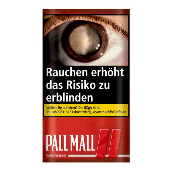 Pall Mall Red Tobacco 6x30g 5,00€