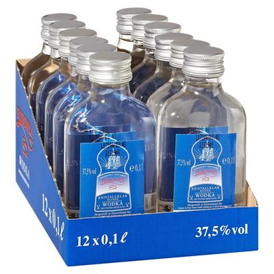 Fjorowka Wodka 37,5% Vol. 12x0,1L