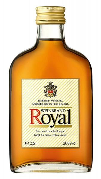 Royal Weinbrand 36% Vol. 12x0,2L