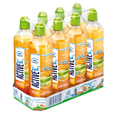 Active O2 Orange Apple Starfruit 8x0,75L