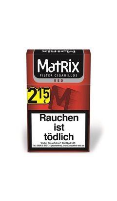 Matrix Cigarillos Red 10x17er