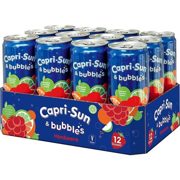 Capri Sun & Bubble Himbeere 12x0,33L