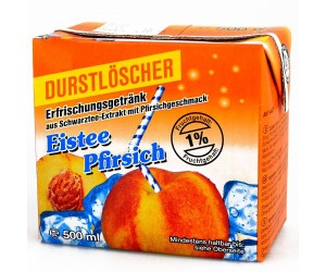 Durstlöscher Eistee Pfirsich 12x0,5L