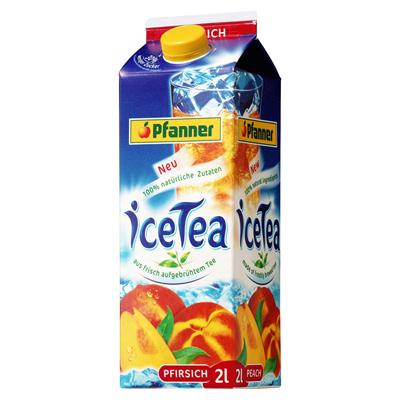 Pfanner Eistee Pfirsich 1x2L