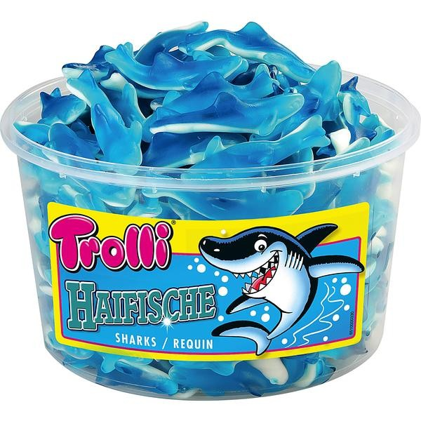 Trolli Haifische 1x150