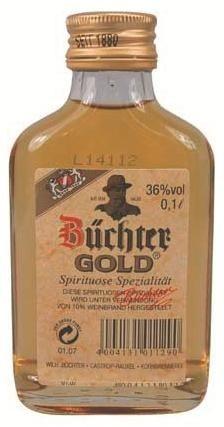 Büchter Weinbrand Gold 36%vol. 12x0,2L