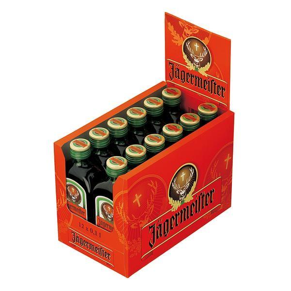 Jägermeister 35% Vol 12x 0,1L