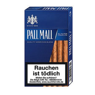 Pall Mall Blue XL Filter Cigarillos 10x17er