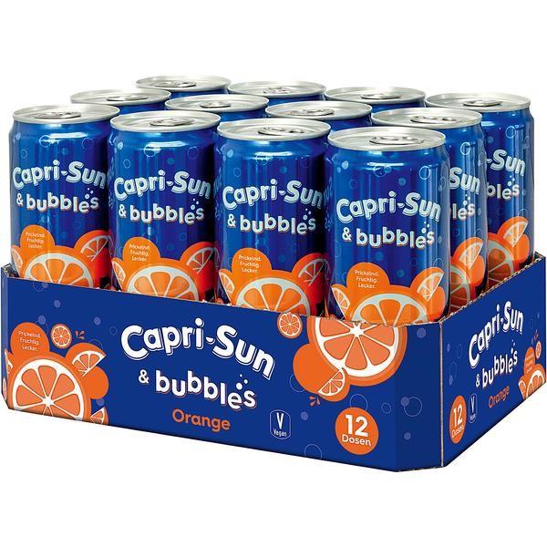 Capri Sun & Bubble Orange 12x0,33l
