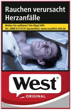 West Red Euro 6,30€