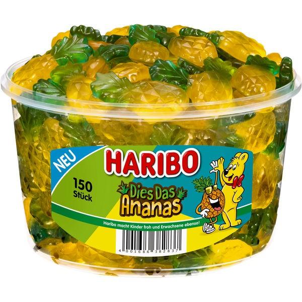 Haribo Dies Das Ananas 1x150