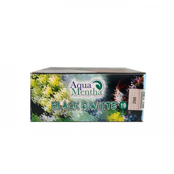Aqua Mentha Black & White 200g