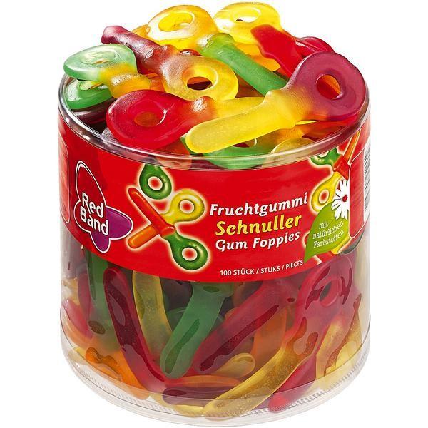 Red Band Frucht Schnuller 1x100