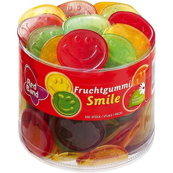 Red Band Frucht Smile 1x100