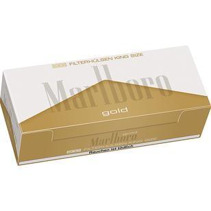 Marlboro Hülsen Gold 5x200er
