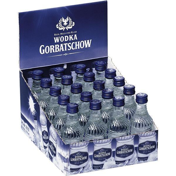 Wodka Gorbatschow 37.5% Vol. 20x0,04L