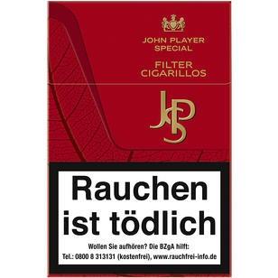 JPS Red Filter Cigarillos 10x17er