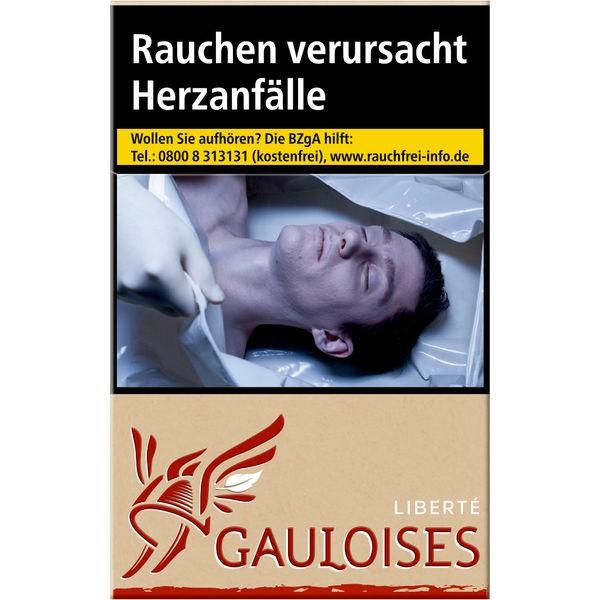 Gauloises Liberté Rot 7,00€