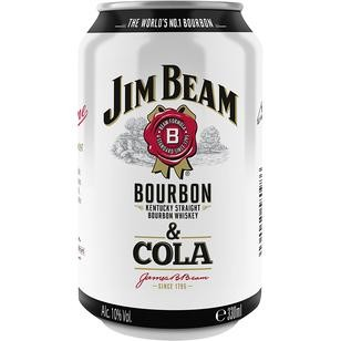 Jim Beam & Cola 10% Vol. 0,33L