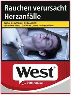 West Red Euro 7,00€