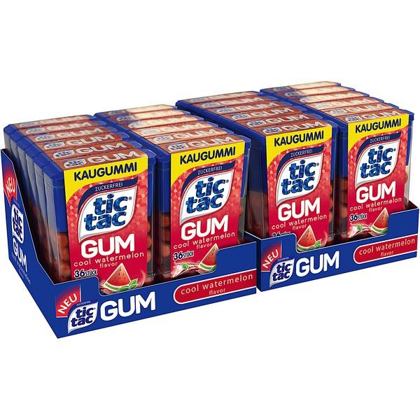 Tic Tac Gum Cool Watermelon 1x24