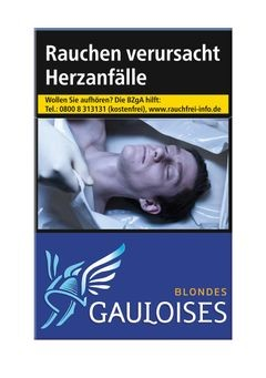 Gauloises Blondes Blau Euro 7,00€