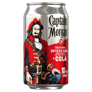 Captain Morgan & Cola 10% Vol. 0,33L