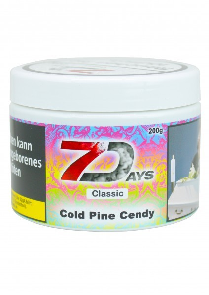 7Days Classic - Cold Pine Cendy - 200g