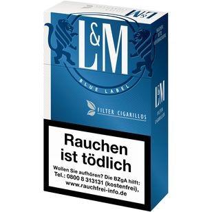 L&M Filter Cigarillos Blue Label 10x17er