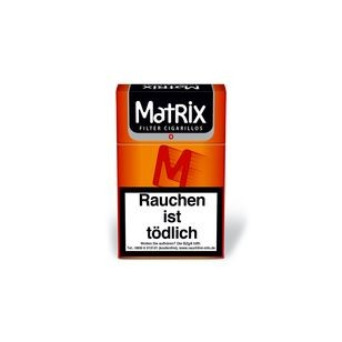 Matrix Orange Zigarillo Naturdeckblatt 10x17er 1,90€