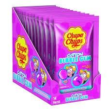 Chupa Chups Cotton Gum Tutti Frutti 14x