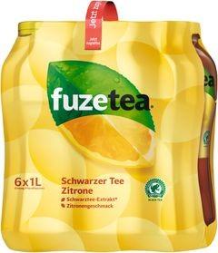 Fuze Tea Zitrone 6x1L