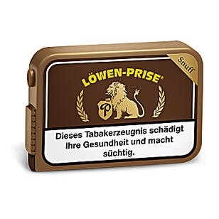 Löwenprise Snuff 10x10g Dosen