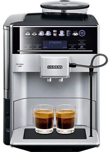 Siemens EQ.6 plus s300 Kaffeevollautomat TE653501DE, Speicherung Profile, Dampf-Reinigung, Doppeltas